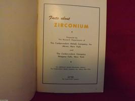 Facts About Zirconium Booklet Carborundum Metals Company image 3