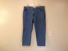 Faded Glory Size 42 by 30 Blue Jeans Front and Back Pockets 100 Percent Cotton image 2