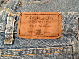 Faded Glory Size 42 by 30 Blue Jeans Front and Back Pockets 100 Percent Cotton image 10