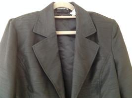 Fashion Bug Dark Navy Jacket Pant Matching Set Jacket Size Medium Pants Size 8 image 2