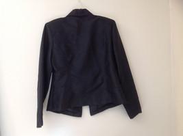 Fashion Bug Dark Navy Jacket Pant Matching Set Jacket Size Medium Pants Size 8 image 5
