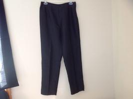 Fashion Bug Dark Navy Jacket Pant Matching Set Jacket Size Medium Pants Size 8 image 10