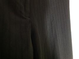 George Stretch Boys Black Pinstriped Dress Pants Front Pockets Size 10 Average image 8