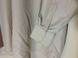 Geoffrey Beene Tan Mens dress shirt long sleeves pockets on front size XL image 4