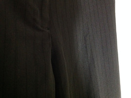 George Stretch Boys Black Pinstriped Dress Pants Front Pockets Size 10 Average image 7