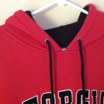 Georgia Bulldogs Red Hoodie Sweatshirt Team Edition Apparel Sizes XS image 4