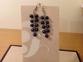Fashion natural river pearls drop dangling earrings, 3 different choices image 2