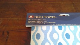 Fiddlers Elbow Dish Towel Light Blue 100 Percent Cotton Made in USA image 4