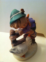 "Goebel Hummel ""Barnyard Hero"" #195 Figurine - West Germany Stamped image 4"