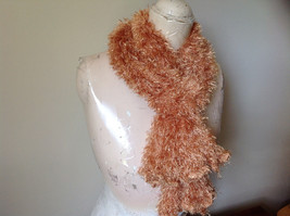 Golden Magic Fuzzy Circle Scarf Can Be Worn Multiple Ways NO TAGS image 2