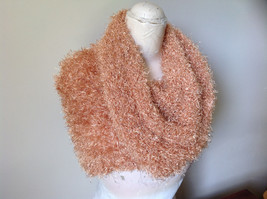 Golden Magic Fuzzy Circle Scarf Can Be Worn Multiple Ways NO TAGS image 6