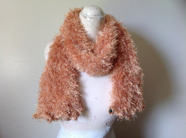 Golden Magic Fuzzy Circle Scarf Can Be Worn Multiple Ways NO TAGS image 7
