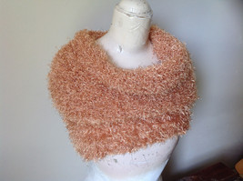 Golden Magic Fuzzy Circle Scarf Can Be Worn Multiple Ways NO TAGS image 5