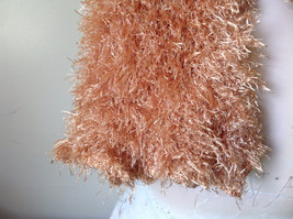 Golden Magic Fuzzy Circle Scarf Can Be Worn Multiple Ways NO TAGS image 8
