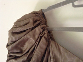 Golden Brown Vintage Dress Beautiful Gown by Chemisier Valerie Porr Size 12 image 7
