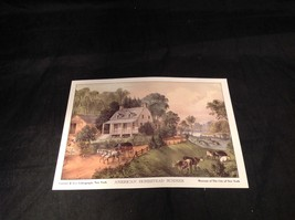 Five Lithographs Currier & Ives 19th Century Images image 2