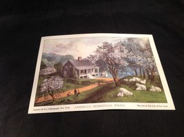 Five Lithographs Currier & Ives 19th Century Images image 3