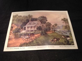 Five Lithographs Currier & Ives 19th Century Images image 6