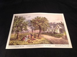 Five Lithographs Currier & Ives 19th Century Images image 4