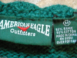 Five knit sweaters women's small Banana Republic American Eagle Perry Ellis image 3