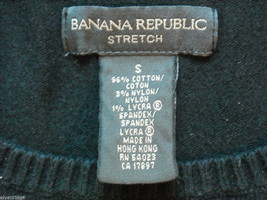 Five knit sweaters women's small Banana Republic American Eagle Perry Ellis image 5