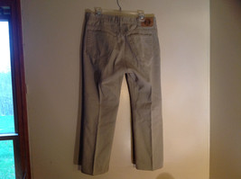 Five Pocket Arizona Khaki Jeans Zipper Button Closure Classic Fit Size 34 by 30 image 7