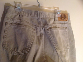 Five Pocket Arizona Khaki Jeans Zipper Button Closure Classic Fit Size 34 by 30 image 6