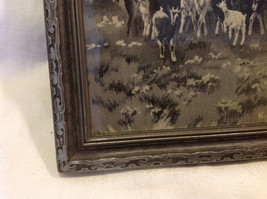 Gorgeous antique preserved alpine image mountains goats framed tapestry image 11