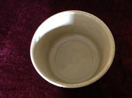 Gray Large Ceramic Bowl Jar No Lid image 2