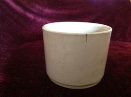 Gray Large Ceramic Bowl Jar No Lid image 3