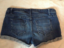 Forever 21 Jean Shorts Cuffed Bottom Size 29 image 6