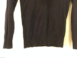 Forever 21 Slouch Cowl-Neck Black Long Sleeve Pullover Sweater, size S image 4