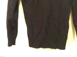 Forever 21 Slouch Cowl-Neck Black Long Sleeve Pullover Sweater, size S image 6