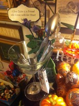 Forked Up Art Martini Glass holder for martini lover who has everything USA made image 3
