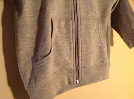Gray Zipper Up Hoodie Jack Rabbit t Chest w elephant Size 4 whimsical image 2
