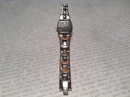 Fossil ES 1053 Watch with Date Marker Silver Tone Band image 2