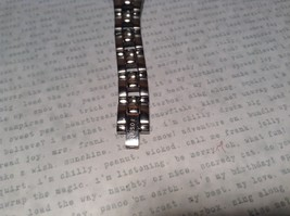 Fossil ES 1053 Watch with Date Marker Silver Tone Band image 3