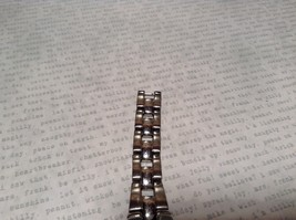 Fossil ES 1053 Watch with Date Marker Silver Tone Band image 4