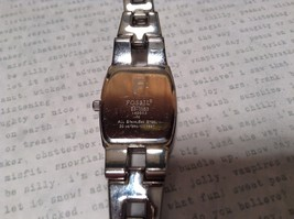 Fossil ES 1053 Watch with Date Marker Silver Tone Band image 6