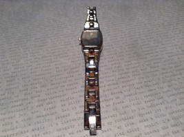 Fossil ES 1053 Watch with Date Marker Silver Tone Band image 5