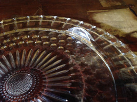 Flat Large Glass Tray Relief on Bottom Bubbles Great for a Party Platter image 6