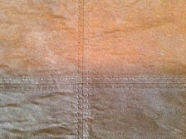 Four Brown Suede Like Material Dinner Placemats Very Sturdy Material image 3