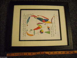 "Framed original artwork called ""Wish List"" image 7"