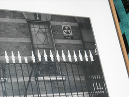 Framed black and white photo house fall out shelter image 3