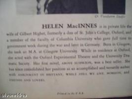 Friends and Lovers vintage book 1947 Helen MacInnes image 4
