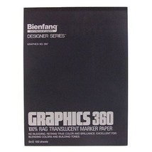 Bienfang Graphics 11 by 14-Inch 360 Paper Pad, 50 Sheets New - $15.79