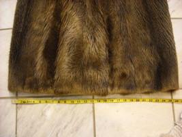 Full length Long hair Beaver coat image 4
