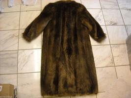 Full length Long hair Beaver coat image 6