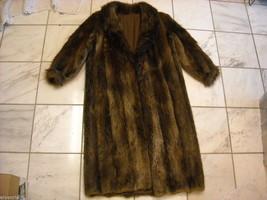 Full length Long hair Beaver coat image 7