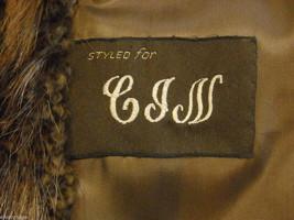 Full length Long hair Beaver coat image 8